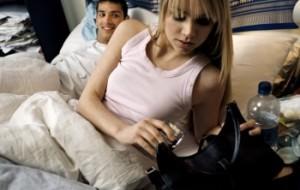 Подростки в постели